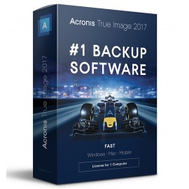 Acronis True Image 2017 3PCS