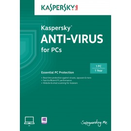Kaspersky Antivirus - 1PC 1AN
