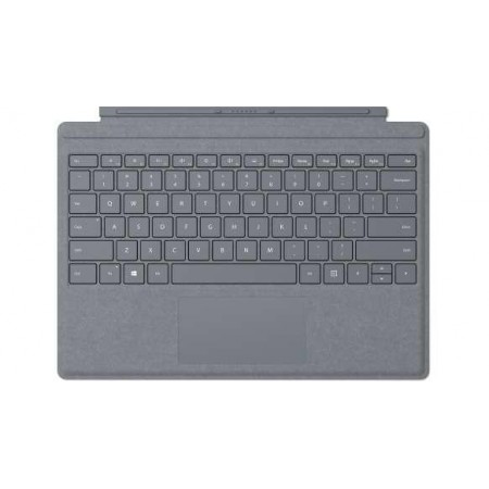 Clavier Microsoft Surface Pro Signature Couvercle Microsoft Cover Port AZERTY Belgian Platinum