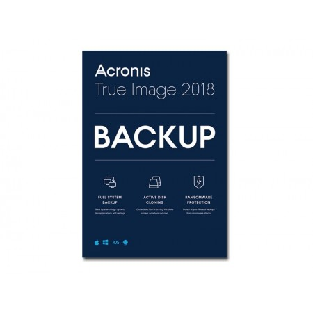 Acronis True Image Premium 1an 5pcs 2018