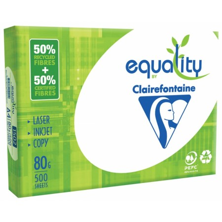 CLAIREFONTAINE EQUALITY PAPIER D'IMPRESSION FT A4, 80 G