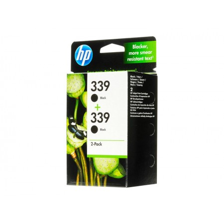 HP 339 2 Packs Noir