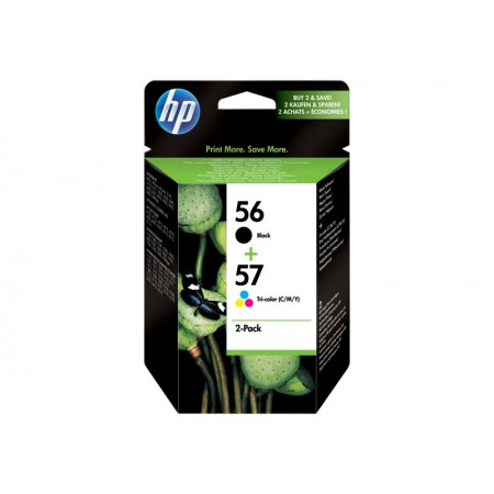 HP Pack combiné HP 56/57