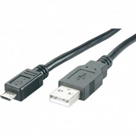 Cable USB 2.0 A - Micro USB B - 1 m